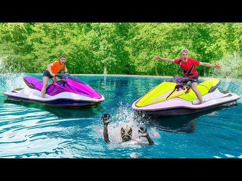 FOUND Mystery Pond Monster Creature Hide & Seek Spot with Waterproof Spy Machines!!