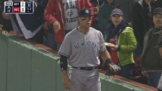 NYY@BOS: Judge's makes catch after call overturned