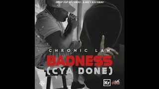 Chronic Law - Badness (Cya Done) (Official Audio)