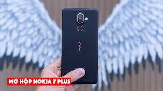 Mở hộp Nokia 7 plus: thiết kế đẹp, ống kính ZEISS, màn hình tỉ lệ 18:9, giá tốt 8.990.000đ | LKCN
