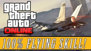 GTA 5: ONLINE | Fastest Way To Max Your Flying Skill (Online Tips & Tricks)