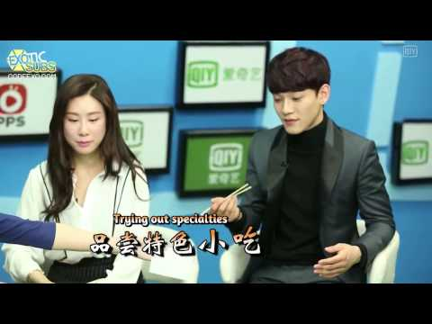[EXOTICSUBS] 140215 iQIYI Interview - Chen and Zhang Li Yin {ENG SUB}