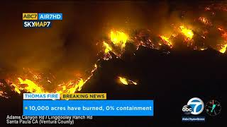 Ventura County fire burns thousands of acres | ABC7