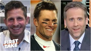 First Take reacts to Tom Brady saying he'd trade two Super Bowl rings for a perfect season