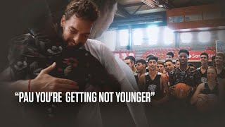 Pau you're getting NOT younger | Jimmy Butler.