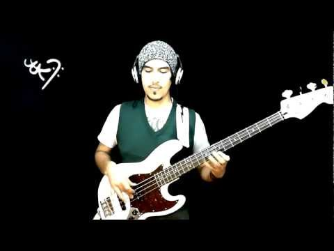 RED HOT CHILI PEPPERS - PURPLE STAIN - [ BASS COVER ] HD