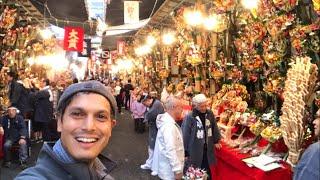 Tokyo's Biggest Street Food & Festival Market | Tori no Ichi