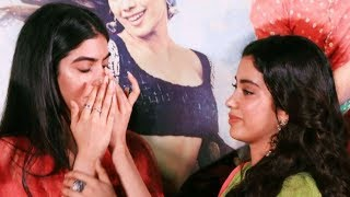 Khushi Kapoor cries inconsolably as she hugs Janhvi Kapoor   Dhadak Trailer
