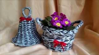 Pletení z papíru #4 (Patina)