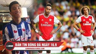 Bản tin Cảm Bóng Đá ngày 16/9 | Arsenal chia điểm đầy thất vọng; Văn Hậu đã có thể ra sân tại Hà Lan