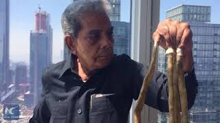 Man with world's longest fingernails cuts them off after 66 years