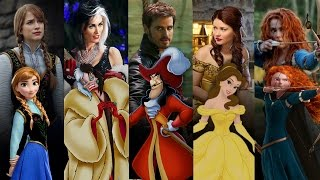 Disney Once Upon A TIme Counterparts