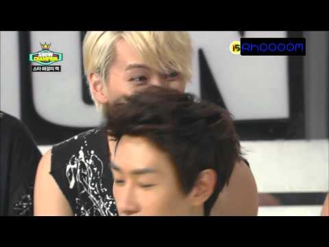 Show Champion Super Junior Interview Cut [ Arabic Sub ]