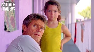 The Florida Project | New Trailer for Willem Dafoe's Magic Castle Motel Movie