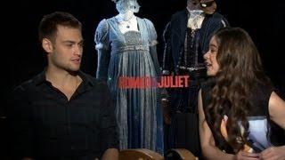 Hailee Steinfeld and Douglas Booth ROMEO & JULIET Cute Interviews!
