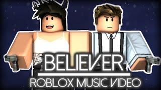 Believer Roblox Music Video Imagine Dragons Music Videos