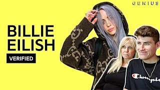 "MOM REACTS TO BILLIE EILISH - ""IDONTWANNABEYOUANYMORE"" OFFICIAL LYRICS BREAKDOWN!"