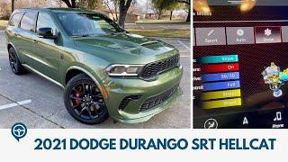 2021 Dodge Durango SRT Hellcat Review and Test Drive