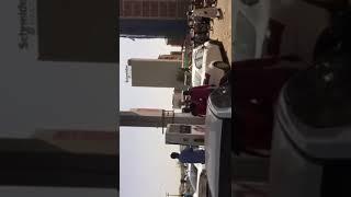 شاهد ازمة الوقود في السودان واصطفاف المواطنين في محطات الوقود ...