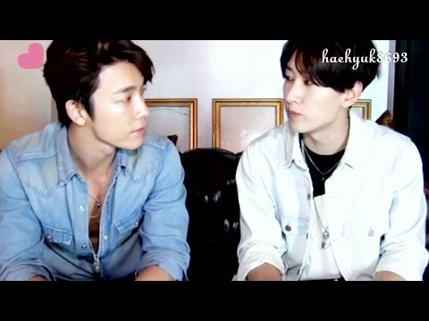 [Part 38] HaeHyuk/EunHae sweet moments - The same heartbeat
