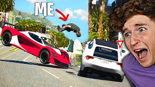 Can You Survive The IMPOSSIBLE Chaos Mod In GTA 5..