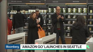 First Impressions of Amazon's Cashier-Less Convenience Store