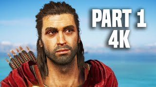 Assassin's Creed Odyssey Gameplay Walkthrough Part 1 - 4K EXCLUSIVE GAMEPLAY!