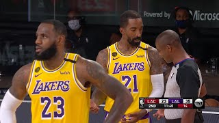 LAKERS vs CLIPPERS - 1st Half Highlights | NBA Restart