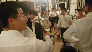 Sung China wedding Deep cries out