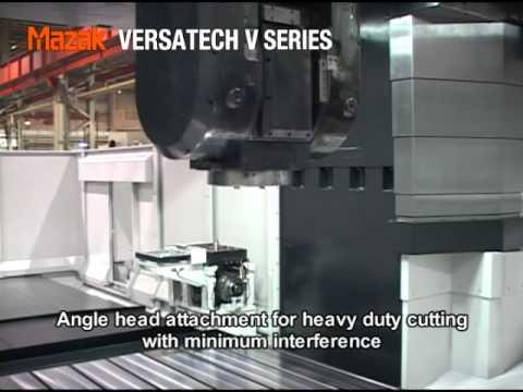 Mazak Versatech Bridgeframe 5-axis VMC's - Addy Machinery