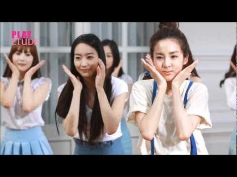 2NE1 Dara and Shinee Etude House Skin Malgem Making Film