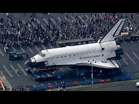 Space Shuttle Endeavour to Reach Final Resting Place ...