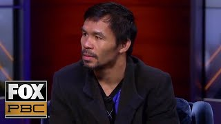 Manny Pacquiao talks ahead of fight with Adrien Broner   INSIDE PBC BOXING