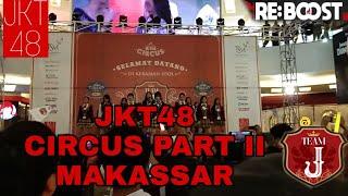 JKT48 Circus Team J live performance at Trans Studio Makassar (part 2)