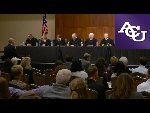 Texas Supreme Court visits Abilene Christian University