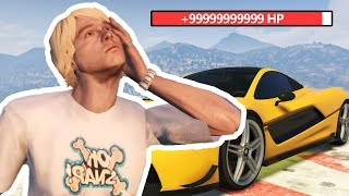 Stealing Angry Kids Car And He Uses Hacks To Get Away - (GTA RP)