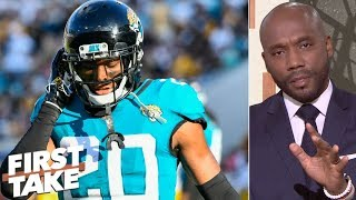 The Jaguars 'flat out quit' vs. Tennessee Titans - Louis Riddick | First Take