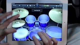 Awesome iPad Drum Solo