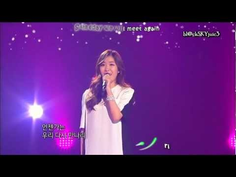 Lee Haeri (Davichi) - Someday LIVE [eng sub+kara]