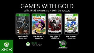 Batman and a genie come to Games with Gold in March