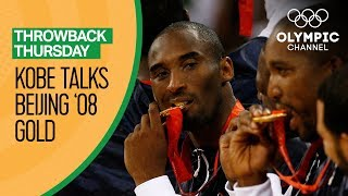 Kobe Bryant on reclaiming Olympic Basketball glory at Beijing 2008