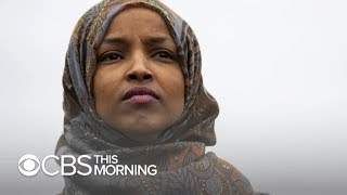 "Rep. Ilhan Omar apologizes for comments deemed ""anti-Semitic tropes"""