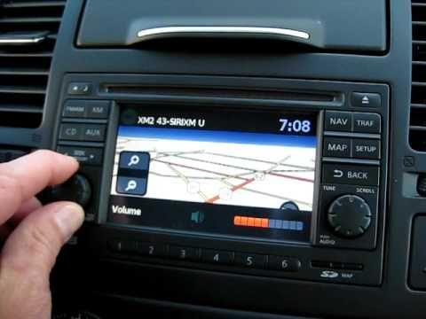 2010 Nissan Versa Navigation Demo Mike Barney Nissan - YouTube