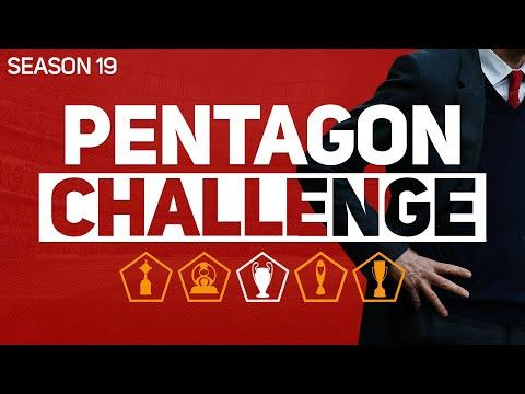 PENTAGON CHALLENGE - FOOTBALL MANAGER 2020 #19