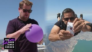 James Corden CALLS OUT David Blaine