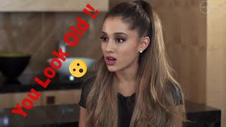 Ariana Grande Rudest Interview Ever ( You Look Like A Child )