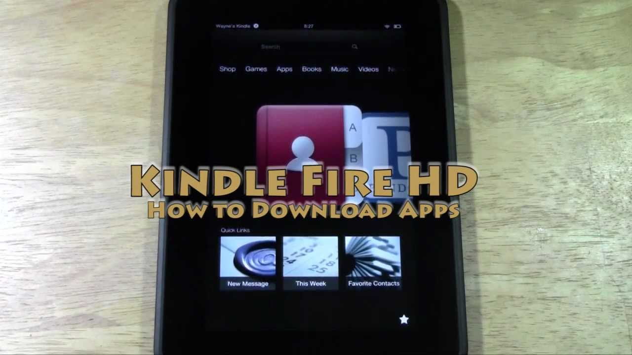 How to download free movies on kindle fire hd