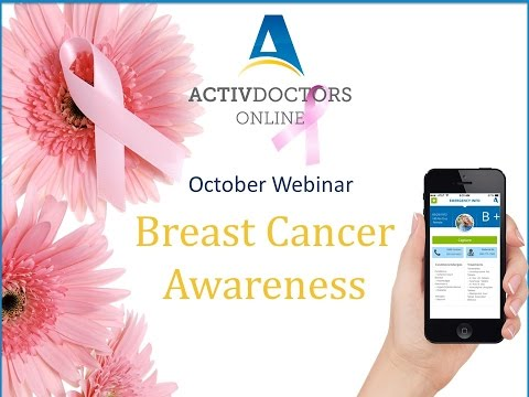 Important Facts That You Should Know About Breast Cancer - October 2015 Webinar