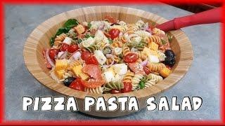Pizza Pasta Salad - International Summer Cooperation