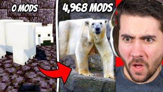 Minecraft, but every minute I add a new mod